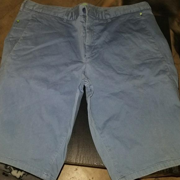 Hugo Boss Other - Hugo Boss light blue 36 Regular fit polo shorts